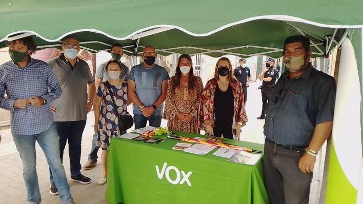 Vox denuncia que el alcalde de Manacor ha ordenado retirar una carpa informativa del partido