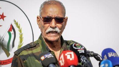 El líder del Polisario abandona España de madrugada en un avión con destino Argel