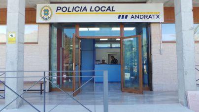 Detenido en Andratx tras provocar un incendio y agredir a un policía