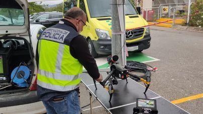 Sancionan a tres personas en Palma por espiar y causar accidentes con drones