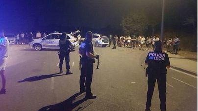 Dispositivo policial tras el final del toque de queda en Baleares