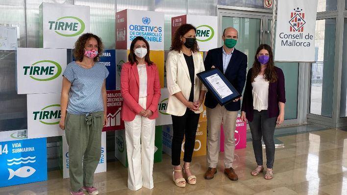 Tirme, primera empresa de residuos de España que certifica su estrategia de economía circular