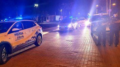 La Policía Local desmantela 5 grandes botellones en Palma