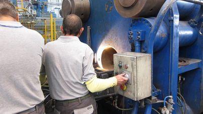 La producción industrial de Baleares aumenta un 33 por ciento en abril