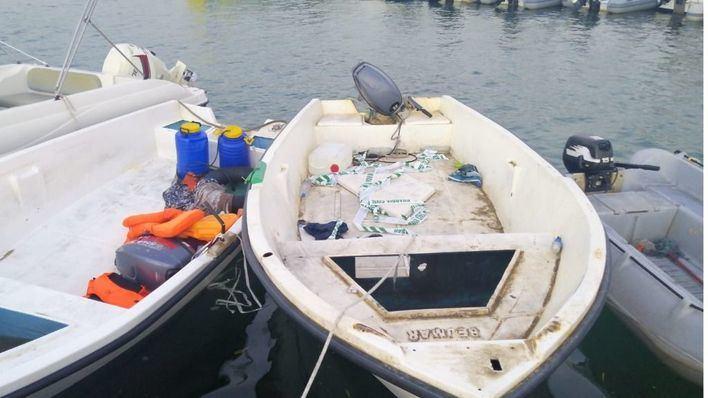 Interceptada en Cabrera una patera con 21 migrantes a bordo