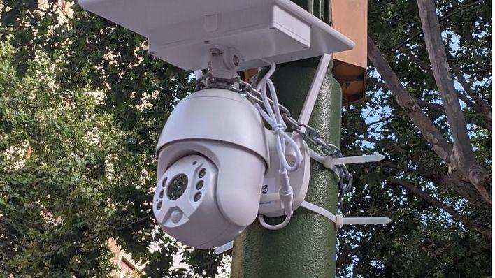 Aparece una misteriosa cámara de vigilancia en 31 de Diciembre de la que Cort asegura no saber nada