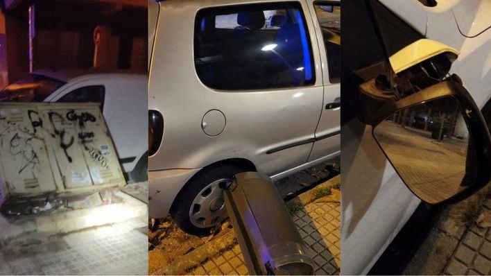 Dos jóvenes detenidos por destrozar coches en Palma