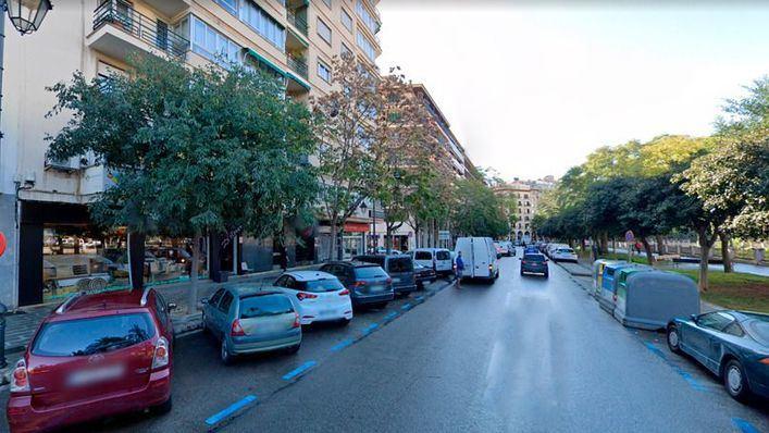 Palma Camina: Cort prohibirá a los no residentes aparcar de Avenidas hacia dentro