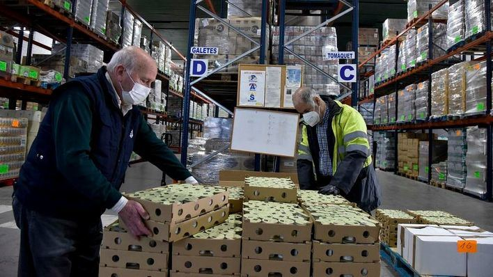 Fundación La Caixa duplica con un millón de euros los donativos a la acción 'Ningún hogar sin alimentos'