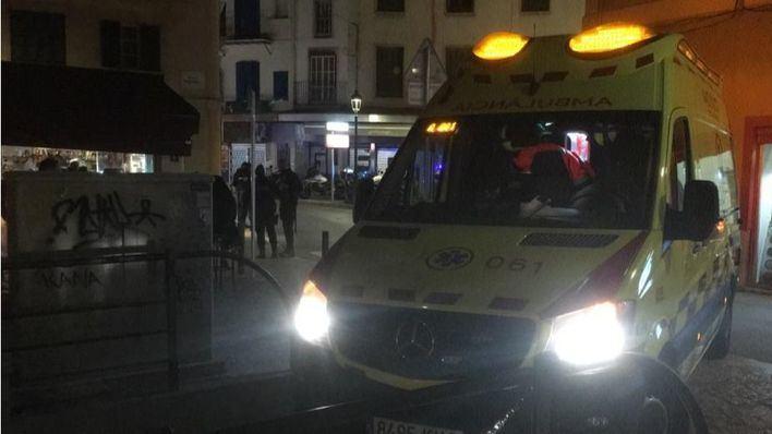 Apuñalados dos jóvenes en Palma al intentar cometer un robo
