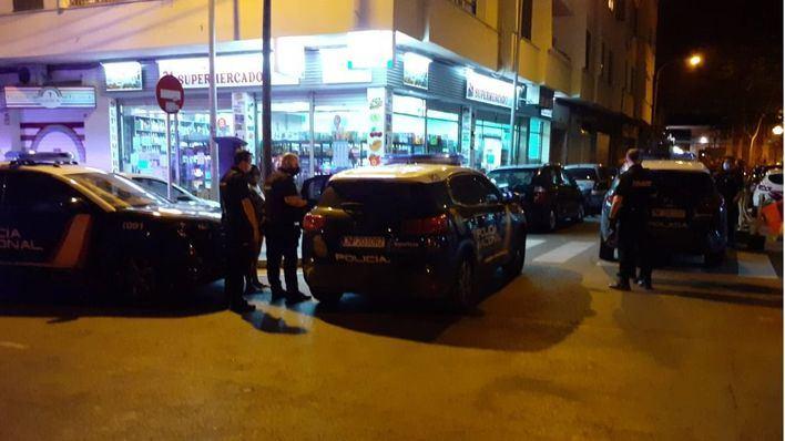 Una trifulca en un bar de Palma acaba con un detenido