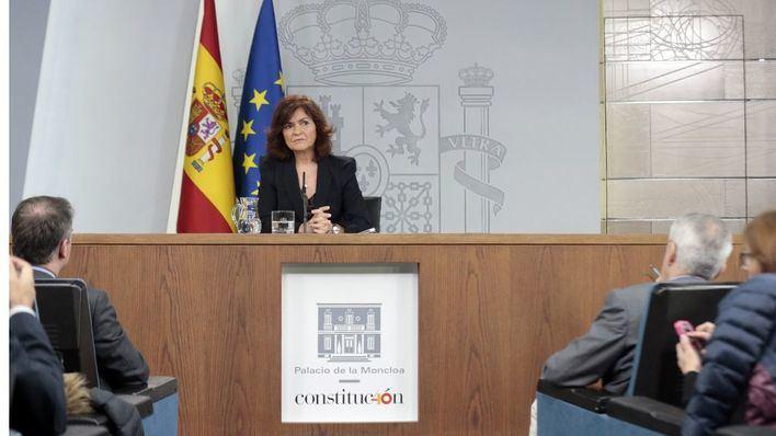 Calvo afirma que los indultos 'están cerca'