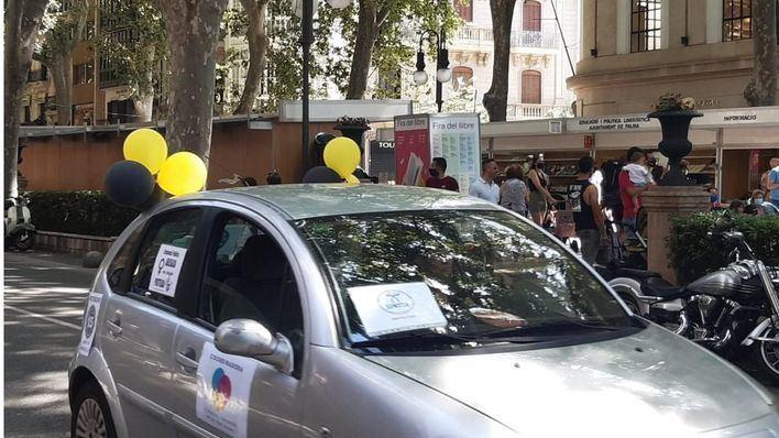 Palma suma una nueva protesta contra la temporalidad abusiva en la administración