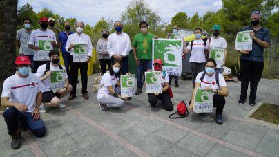 Voluntarios recogen 165 kilos de residuos en la Marina de Magaluf