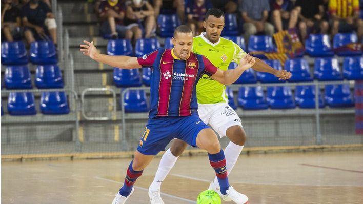 El Palma Futsal cae en la prórroga de semifinales ante el Barça y se despide de sus opciones de título