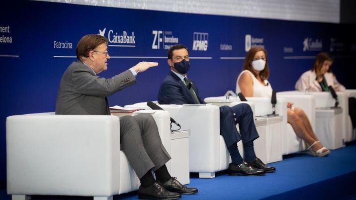 Armengol coincide con presidentes del PP en la necesidad de reformar la financiación autonómica