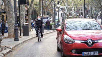 Amplio rechazo a prohibir a los no residentes aparcar en el centro de Palma