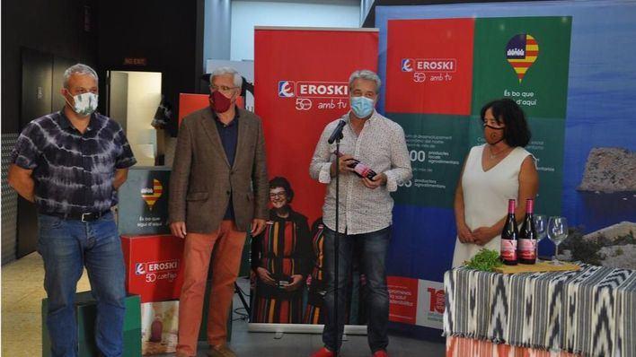 Eroski presenta 'Pinyol Vermell', un exclusivo vino de crianza D.O Binissalem