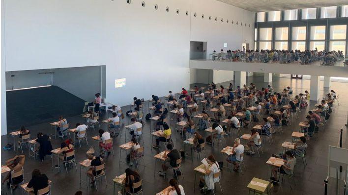 El 92,5 por ciento de los estudiantes baleares aprueba la EBAU en junio