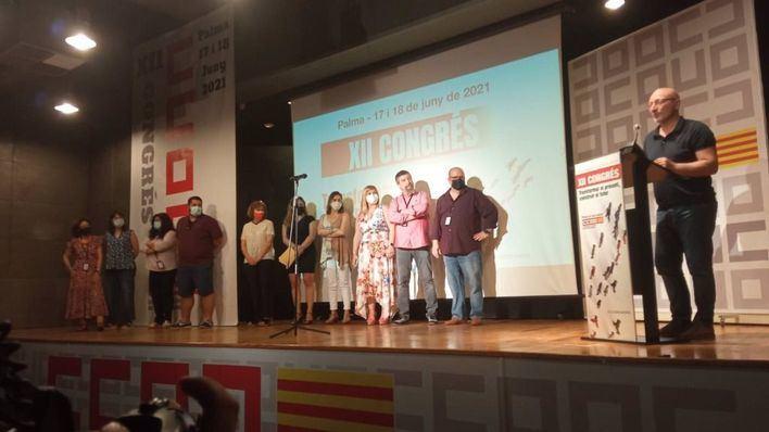 José Luis García afronta una nueva etapa como secretario general de CCOO en Baleares