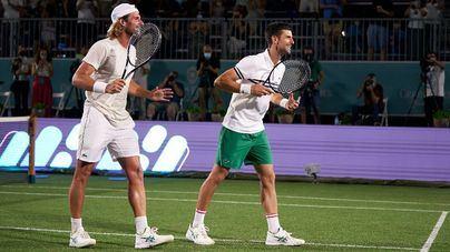 Djokovic inaugura la pista central del Mallorca ATP Championship