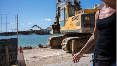 El Pi critica a Cort por llevar a cabo obras en plena temporada turística y primera línea de mar