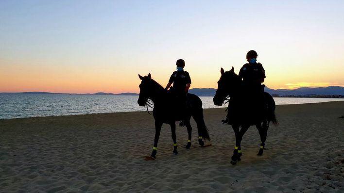 Palma cerrará las playas a las 19 horas para evitar aglomeraciones en la Nit de Sant Joan