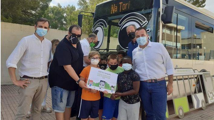 La EMT estrena un proyecto educativo para acercar a los niños a la movilidad sostenible