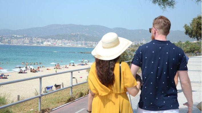 Cielo poco nuboso con posibilidad de algún chubasco ocasional en Mallorca