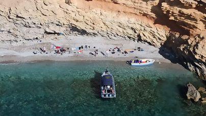 Localizan en aguas de Cabrera una patera con siete ocupantes a bordo