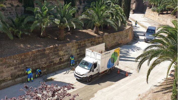 Emaya retira unas 350 toneladas de residuos sa Riera