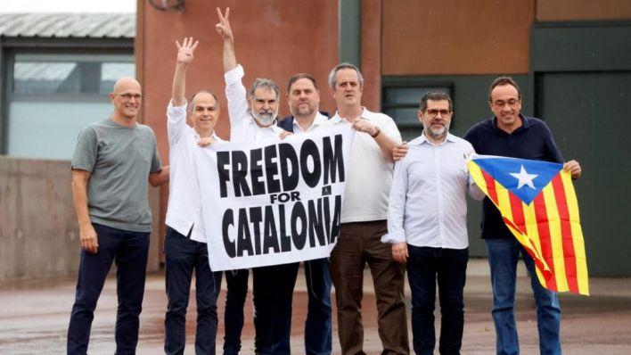 Los presos del 'procés' salen de la cárcel: