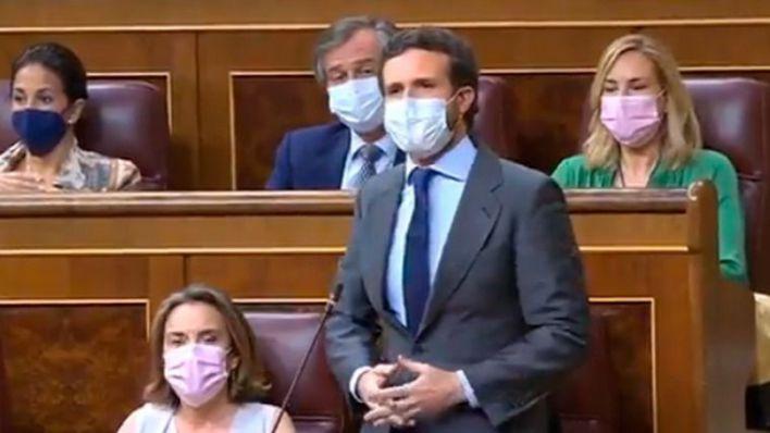 Casado pide a Sánchez que someta los indultos a las urnas