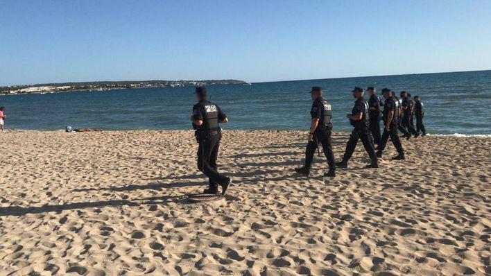 Playas cerradas en la Nit de Sant Joan