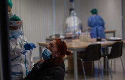 La incidencia acumulada de contagios sube ligeramente en España