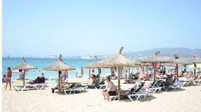 Las temperaturas continúan subiendo en Baleares