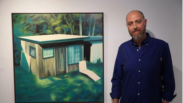 José Fiol gana el Certamen de Pintura de Sant Marçal con su obra 'Neo-Luddism'