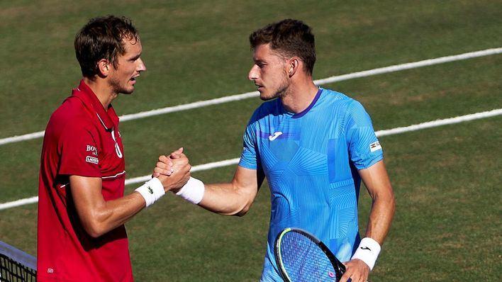 Medvedev se enfrentará a Sam Querrey en la gran final del Mallorca Championships