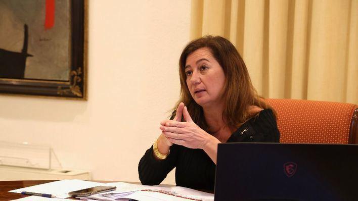 Vox pide la comparecencia urgente de Armengol por la 'retención ilegal de menores'