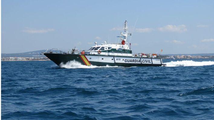 Rescatan una patera con 10 migrantes en Formentera