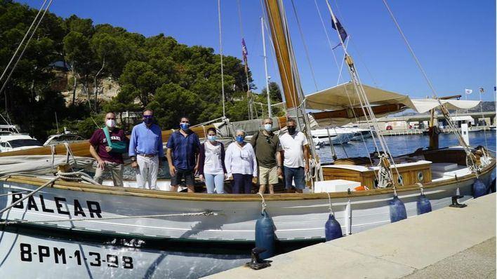 La 'Balear' pone punto final a las visitas a las Reservas Marinas de Calvià
