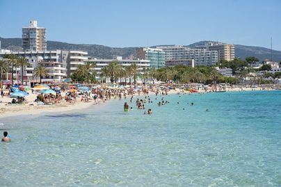 35 grados hoy en Mallorca
