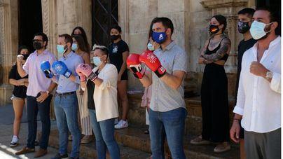 Palma acoge la primera velada de boxeo femenino que se celebra en Baleares