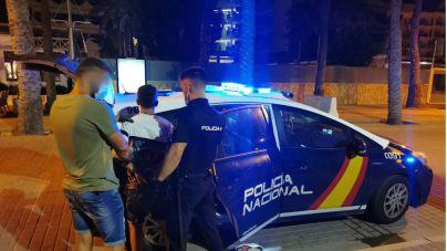 Diez detenidos en apenas cinco días tras ser pillados robando 'in fraganti' en Playa de Palma