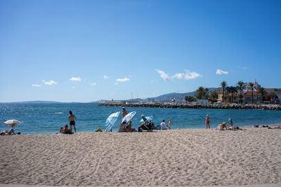 Altas temperaturas y calor sofocante en Mallorca