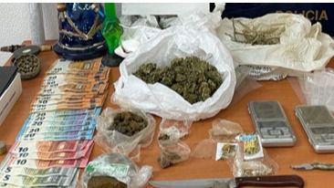 Detenidos una madre y su hijo por vender marihuana y hachís