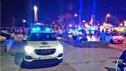 Gran dispositivo 'antibotellón' para este fin de semana en Palma
