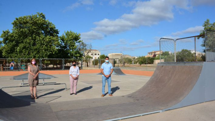 Santanyí invierte 18.000 euros en la mejora del skatepark