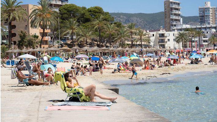 Las temperaturas siguen subiendo en Baleares