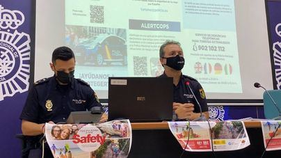La Policía Nacional presenta la 'Operación Verano 2021' y el 'Plan Turismo Seguro'